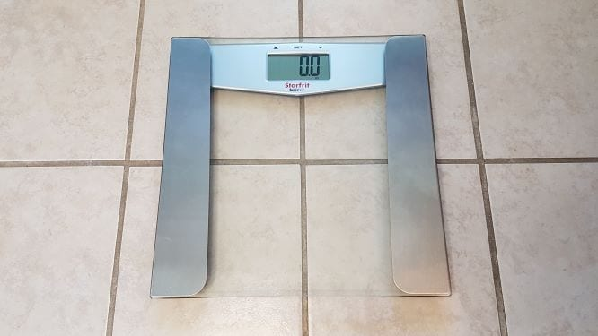 Bathroom Scale Progress Post1